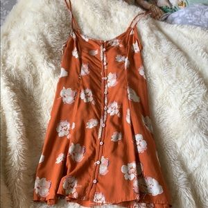 NWT Abercrombie & Fitch floral button up dress!